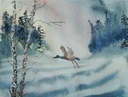 'Flying Home' © Sandie Croft