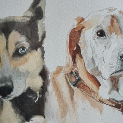 'Gra's Dogs' © Sandie Croft
