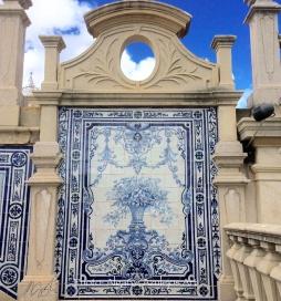 """Estoi Palace"" © Algarve Azulejos Art"