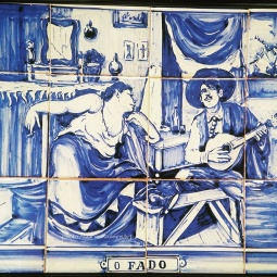 """O Fado"" Old Tile Art in Faro"