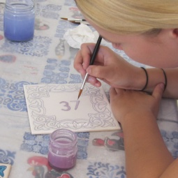 """Workshop"" © Algarve Azulejos Art"