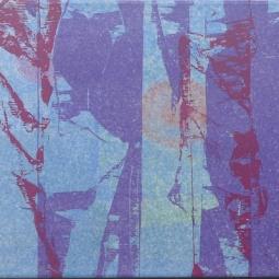 Long bleu 90x30