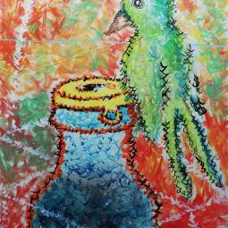 BirdBottle 100 x 70 © Patrick George McClelland