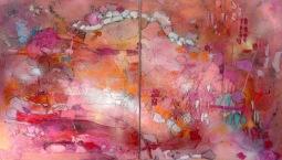 Diptych Celebrations, 2x 70x80cm © Lotti Klink