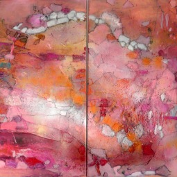 Diptych Celebrations, 2x 70x80cm © Lotti Klink