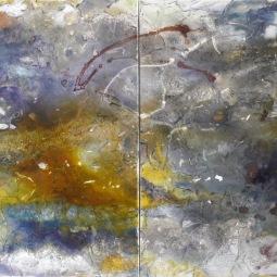 Diptych Dança dos ventos, 2x 80x80cm © Lotti Klink