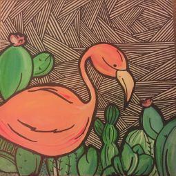 flamingo cactus 1 © Sara Hannon