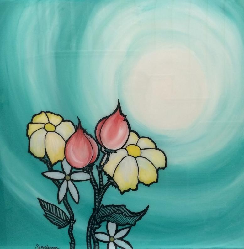flower & void © Sara Hannon
