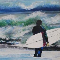 SurfNo.1 45 x 60 © Patrick George McClelland