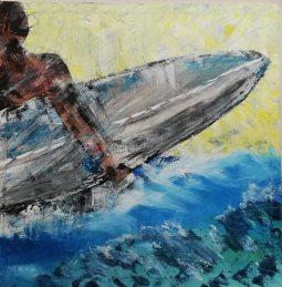 SurfNo.2 40 x 40 © Patrick George McClelland