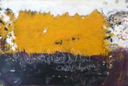 Yellow ribbon, 80x120cm © Lotti Klink