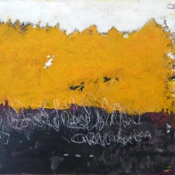 Yellow ribbon, 80x120cm © Lotti Klink