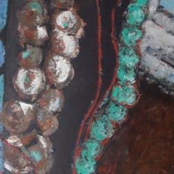 Beads 180x80 © Lida van der Sar