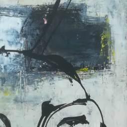 Black and Yellow (30 x 80 - 3 stuks) (2) © Lida van der Sar
