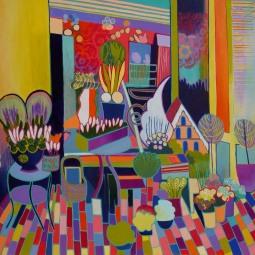 Flower shop arrangement © Liz Allen