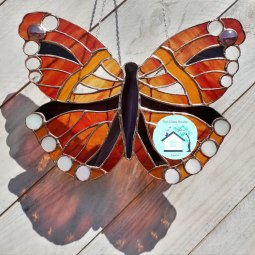 Red Admiral designed by the glass house algarve 2019 © Liza Walker