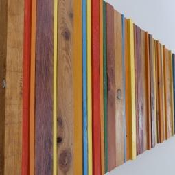 3D Wood Wall Art © Iain Bennet-Hobbs