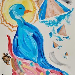 Bluebird of Egypt © Shannon Idzikowska