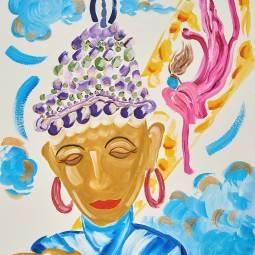 Buddhist Cosmology © Shannon Idzikowska
