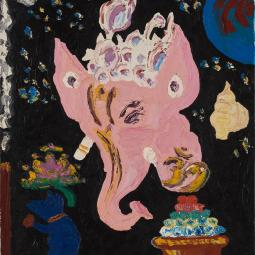 Ganesha and His Rat Vehicle © Shannon Idzikowska