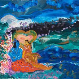 Radha's Love for Krishna © Shannon Idzikowska