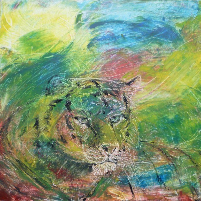 Tiger Abstract 1200