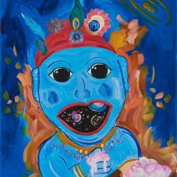 Universe in Krishnas Mouth © Shannon Idzikowska