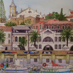 'Mercado Municipal de Lagos' © Malcolm Hyde