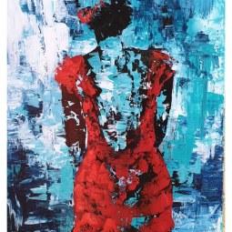 60 x 90cm Crimson Desire © Samantha van der Westhuizen/ Tintinter