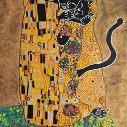 Black Cat Kiss © Rowan Marques