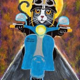 Fleasy Rider © Rowan Marques