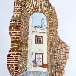 Portas da Cidade de Silves © Malcolm Hyde
