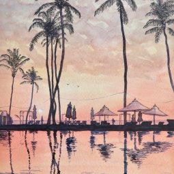 Mauritius Sunset © Malcolm Hyde