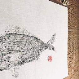 Fish print II © LUZALBA