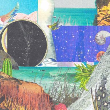 OCEAN SPACE - collage EXTRAI
